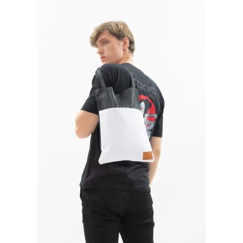 Foto Produk Tote Bag Canvas houseofcuff tas jinjing pria wanita white pocket dari House of Cuff