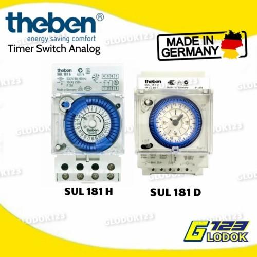 Foto Produk Timer Analog Switch Panel Penghemat Listrik Theben Sul 181h - SUL 181 H, Tanpa Bubble dari Glodok123