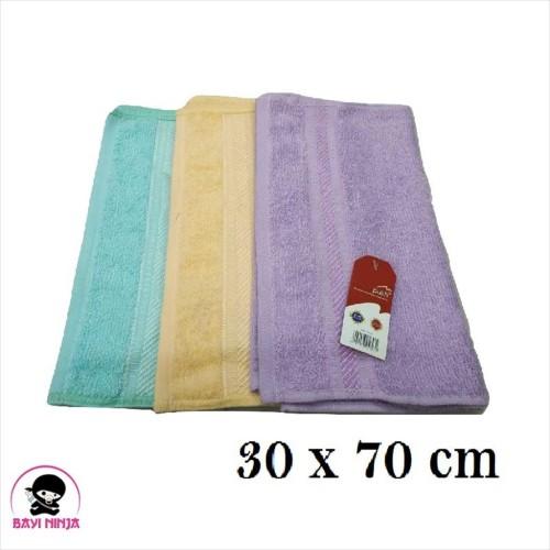 Foto Produk MERAH PUTIH Sport Towel Handuk Muka Olahraga 30x70cm - BN012 dari BAYININJA