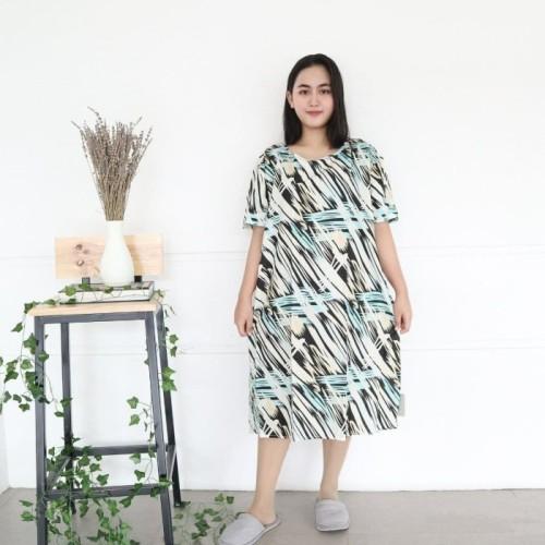 Foto Produk DASTER OBLONG XXL RAYON IMPORT - SHADOW TOSCA dari Piyama Termurah Official shop