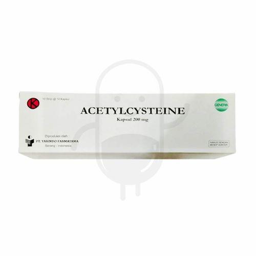 Foto Produk ACETYLCYSTEINE YARINDO 200 MG BOX 100 KAPSUL dari Apotek Sekata