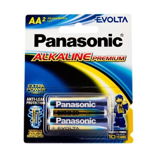 Foto Produk Panasonic Battery AA Alkaline EVOLTA PREMIUM [2PCS] dari ElectricalMART ID