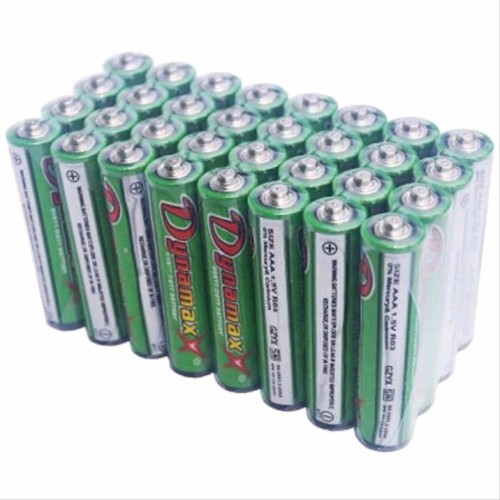 Foto Produk Baterai AAA A3 Dynamax / TWT 1.5v Kualitas SNI GROSIR / Battery batrei dari ElectricalMART ID