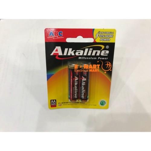 Foto Produk Baterai AA Alkaline isi 2 / ABC Alkaline Battery GROSIR dari ElectricalMART ID