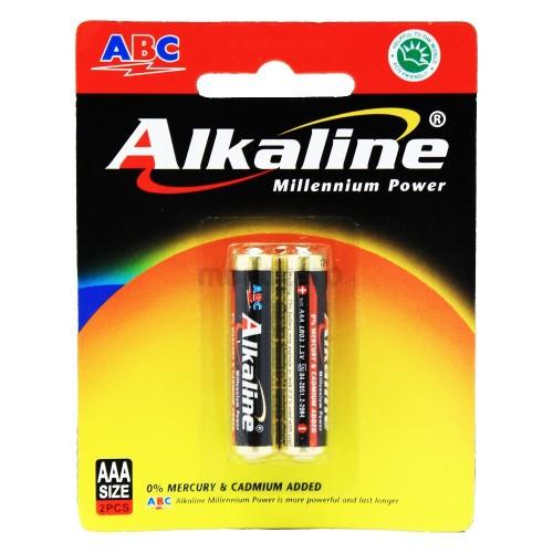 Foto Produk Baterai AAA ABC Alkaline 2PCS / Battery AAA Alkaline dari ElectricalMART ID