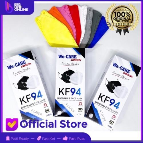 Foto Produk Masker KF 94 Warna Warni 4Ply, KF94 Mask 4 Ply, Bukan Sensi Convex dari BigOneOnline