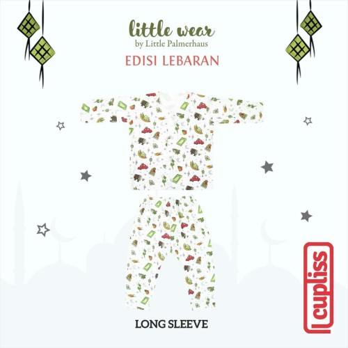 Foto Produk Edisi Lebaran Little Palmerhaus Little Wear Long Sleeve - 0-6 bulan dari Cupliss