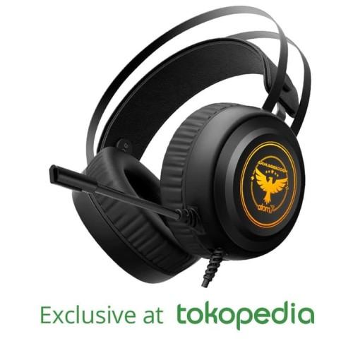 Foto Produk Headset Gaming Armaggeddon Atom 7 (7 Colour Lighting Pulsating EFX) dari Armaggeddon Official