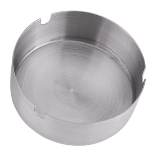 Foto Produk Asbak Bundar Stainless Steel Diameter 8 cm Modern (19B) RPM dari 19Bodeba