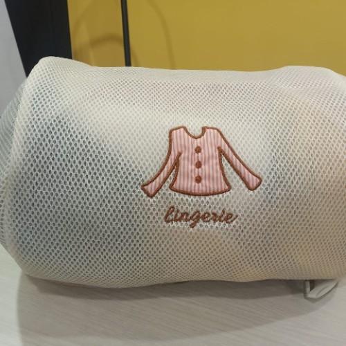 Foto Produk Keranjang Baju Laundry Bag Pakaian Kotor Lingerie Mesin Cuci (19B) TIR dari 19Bodeba
