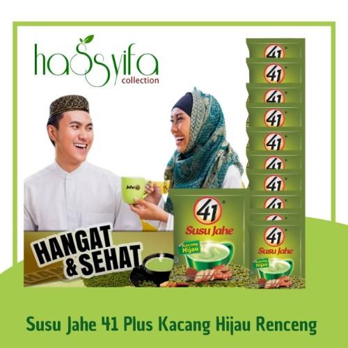 Foto Produk Susu Jahe 41 Kacang Hijau Rencengan dari Hassyifa collection