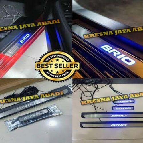 Foto Produk SILLPLATE SAMPING STAINLESS LAMPU ALL NEW BRIO dari KRESNA CAR ACCESORIES