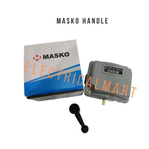 Foto Produk MASKO Handle Camstater GA-15A ( I 0 ) Ohm Saklar 2 Posisi 15A dari ElectricalMART ID