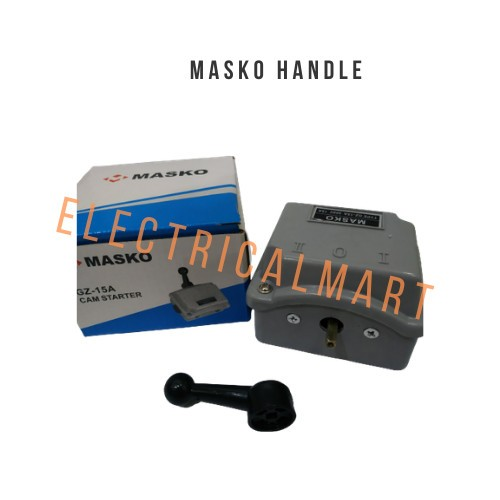 Foto Produk MASKO Handle Camstater GZ-15A ( I 0 II )Ohm Saklar 15 Amphere dari ElectricalMART ID