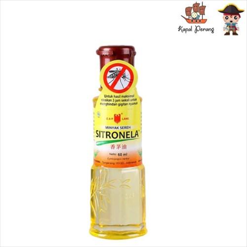 Foto Produk Caplang Sitronela Minyak Sereh 60mL dari Kapal Perang