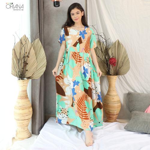 Foto Produk Oriana DASTER BUSUI PANJANG Claire Series Allsize - Tan dari Oriana Homewear