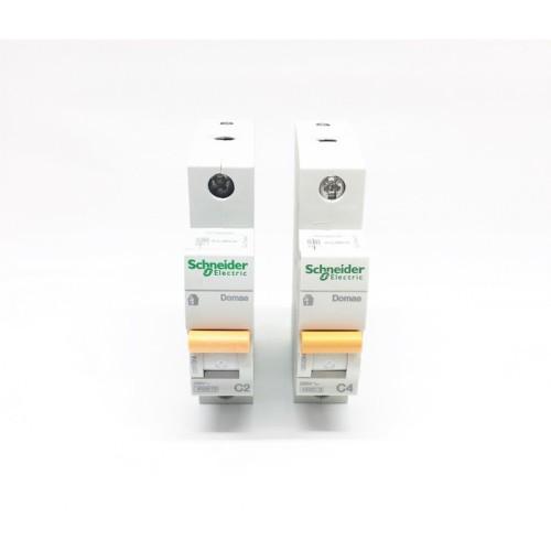 Foto Produk SCHNEIDER Domae MCB 1P 2A 4A 900W dari ElectricalMART ID