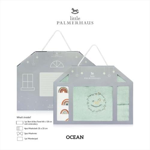 Foto Produk Little Palmerhaus - Baby Newborn Giftset - OCEAN BLUE dari Little Palmerhaus