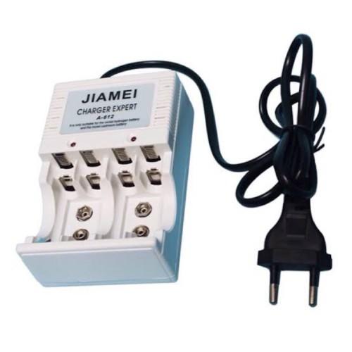 Foto Produk ALAT CHARGER BATTERY AA AAA 9V / Charger Baterai 9V Kotak / Cas Batrai dari ElectricalMART ID