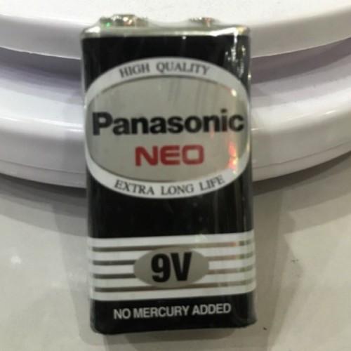 Foto Produk Panasonic Battery 9V Neo / Baterai 9V Kotak / Baterai Mic GROSIR dari ElectricalMART ID