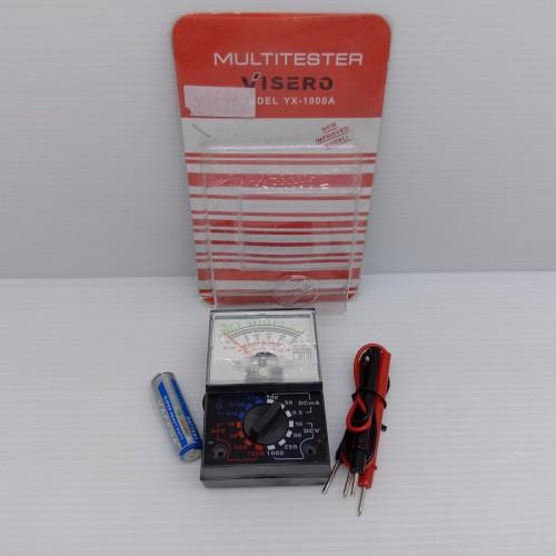 Foto Produk Avometer Kecil Murah / Multitester Visero YX-1000 Analog dari ElectricalMART ID