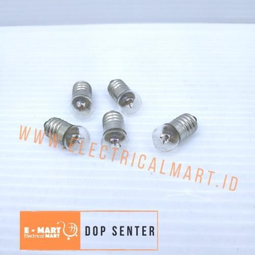 Foto Produk Lampu Bohlam / DOP SENTER Drat DC Bulb Kecil Praktek Sekolah dari ElectricalMART ID