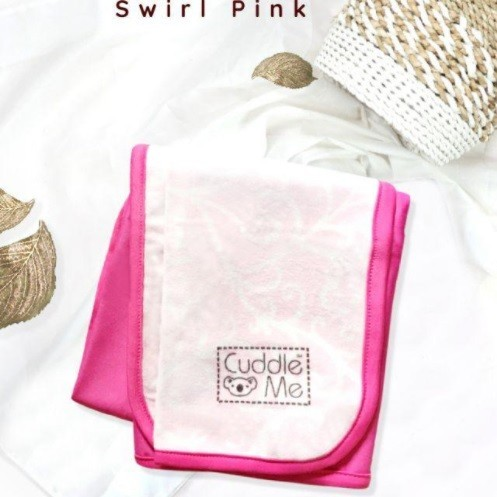 Foto Produk Dry Pad Cuddle Me Alas Ompol Perlak Modern Bayi Waterproof Anti Tembus - Swirl Pink dari Enilate