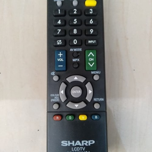 Foto Produk Remote tv SHARP asli original pabrik bergaransi SH-161 dari Bracket offcial store