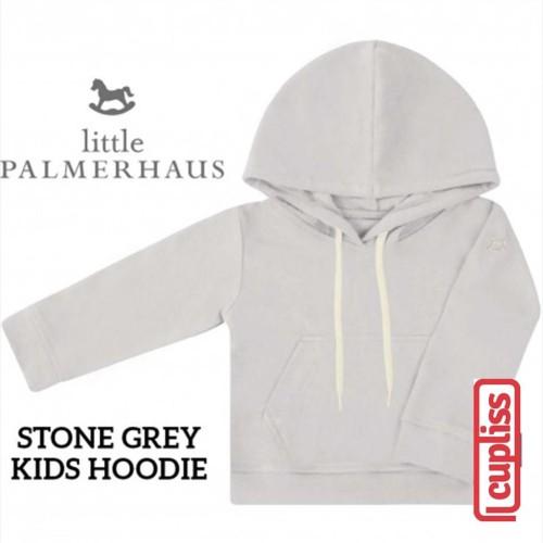 Foto Produk Little Palmerhaus Kids Hoodie Stone Grey Jaket Anak - 1 Years dari Cupliss