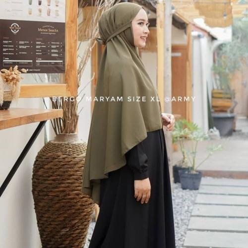 Foto Produk Hannah Bergo Jumbo Diamond Syria Maryam Azaela - SALEM dari yoshie hijab