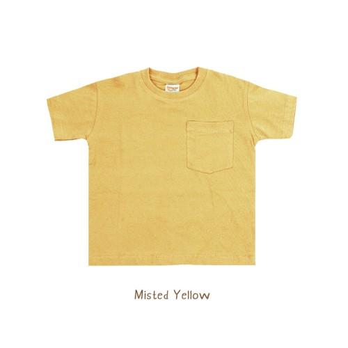 Foto Produk Kaos Anak - Booyah Pocket Tees (6-10 TAHUN) - Misted Yellow, 6Years dari Booyahkids