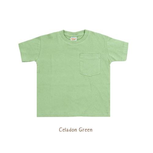 Foto Produk Kaos Anak - Booyah Pocket Tees (1-5 TAHUN) - Celadon Green, 3Years dari Booyahkids