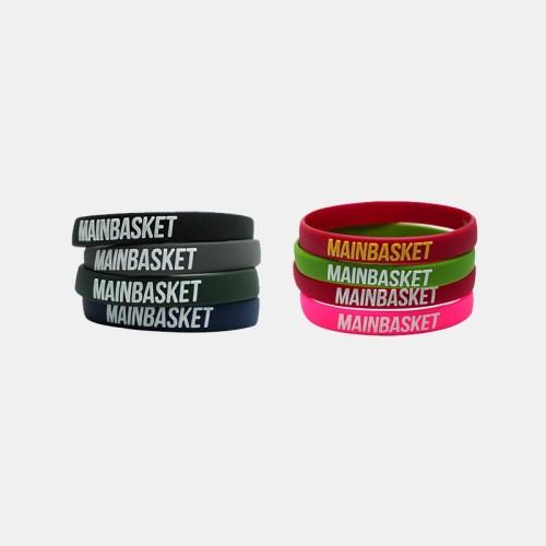 """Foto Produk Gelang Mainbasket """"Basket Indonesia Selamanya"""" - black / white dari DBL Store"""