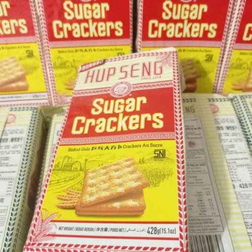Foto Produk HUPSENG HUP SENG Biskuit Cream Crackers / Biscuit Polos Manis Sayur - Manis dari Lim Yong
