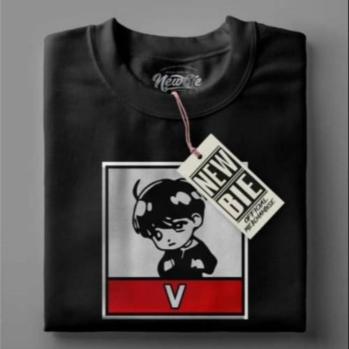 Foto Produk Kaos t-shirt baju BTS v Kim Taehyung / kaos army / kaos k-pop korea - Lengan panjang, S dari Buyyy_Store