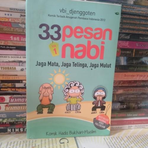 Foto Produk BUKU ASLI 33 PESAN NABI VOL 1 JAGA MATA JAGA TELINGA JAGA MULUT VBI DJ dari Barake Bookstore