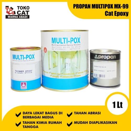 Foto Produk Cat Epoxy Propan Multipox MX-99 1 Set dari Toko Cat Warna Abadi