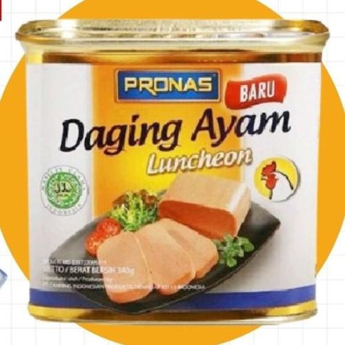 Foto Produk (SIAP GROSIR) Pronas Luncheon Ayam (Daging Ayam Blok Serbaguna) 198grm dari CreativeCorner