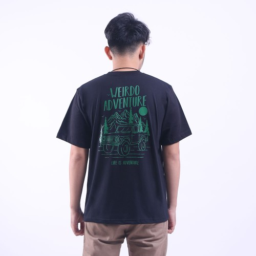 Foto Produk Heyho - Weirdo T-Shirt Weird Adventure Black Default - l dari Heyho Group Indonesia