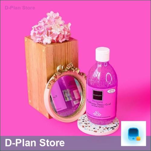 Foto Produk Pomegranate 300 ml Original BPOM Whitening Shower Scrub SCARLETT dari D-Plan Store