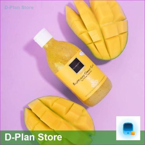 Foto Produk Mango 300 ml Original BPOM Whitening Shower Scrub SCARLETT dari D-Plan Store