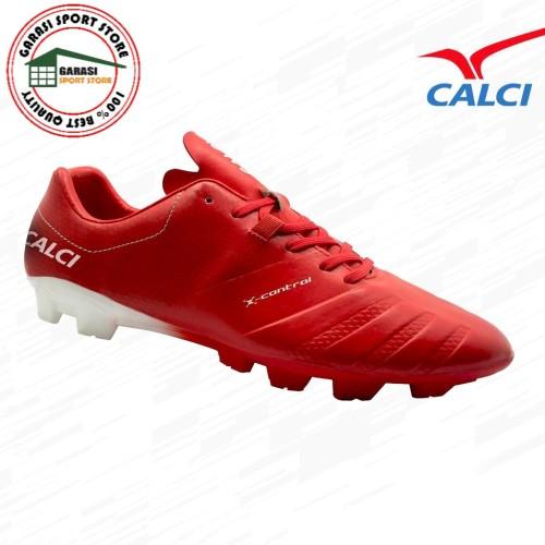 Foto Produk Calci Sepatu Bola Soccer Valor SC - Red White - 38 dari Garasi Sport Store