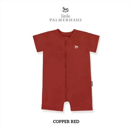 Foto Produk Little Palmerhaus - Zippy Playsuit (Jumper Bayi) 0-24 Bulan 2.B - COPPER RED, 06-12 M dari Little Palmerhaus