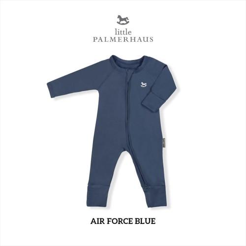 Foto Produk Little Palmerhaus - Sleepsuit (Jumper Bayi) 0-24 Bulan 2.A - AIR FORCE BLUE, 18M dari Little Palmerhaus