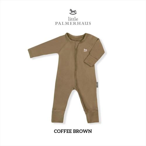 Foto Produk Little Palmerhaus - Sleepsuit (Jumper Bayi) 0-24 Bulan 2.A - COFFE BROWN, 9M dari Little Palmerhaus