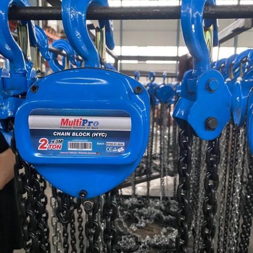 Foto Produk MULTIPRO chain block takel chian hoist 2 ton X 3 meter dari VINS TEKNIK