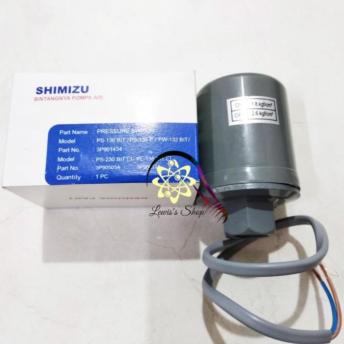 Jual Otomatis Pompa Air Shimizu Ps 230 Bit Pressure Switch Original Kota Medan Lewis S Shop Tokopedia