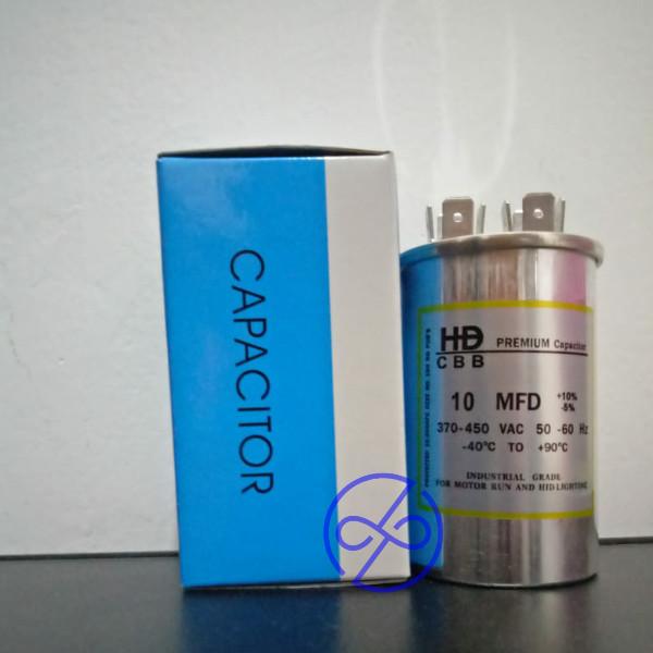 Jual Capacitor 10 Uf 450v Kapasitor Ac 10 Mf Hd Premium Bulat Aluminium Cbb Kota Surabaya Nazila Elektronik Tokopedia