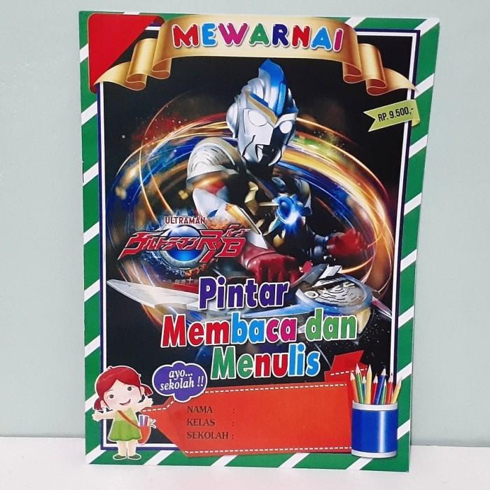 30 Contoh Gambar Mewarnai Ultraman Paling Baru Lingkar Png