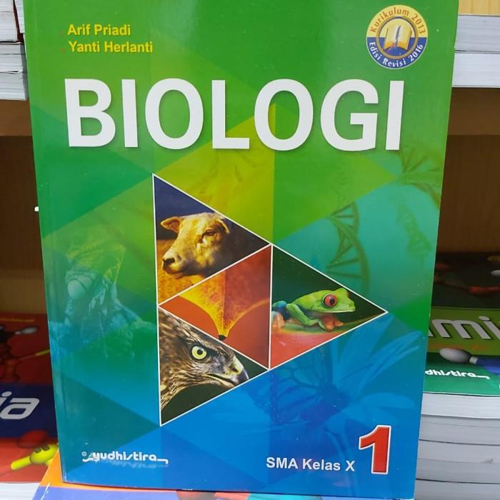 Jual Biologi Kelas X 10 Sma K13 Arif P Yudhistira Jakarta Timur Beztshop Tokopedia